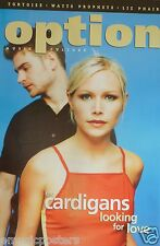 "THE CARDIGANS ""OPTION MAGAZINE"" U.S. PROMO POSTER FROM 2000-Sweden Alt Rock Band"