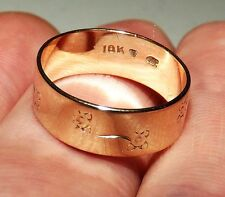 Vintage SOLID 10K YELLOW GOLD Flower Designer Ring (SIZE: 5) - 2.1 GRAMS, L@@K!