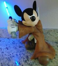 Mickey Mouse Jedi Knight Fig Statue with Light Saber
