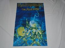 IRON MAIDEN LIVE AFTER DEATH TEXTILE FLAG