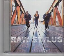 (GA88) Raw Stylus, Pushing Against The Flow  - 1995 CD