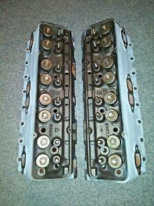 1958 Corvette Fuely SBC 283 Fuel Injection 539 Heads 3731539 original 43k set
