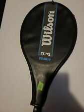 Wilson Midsize 85 Sting Graphite Tennis Racquet With Cover 4.375 Inch Grip