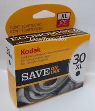Kodak Black Ink Inkjet Cartridge 30XL 30BXL Printer Ink NEW In Box OEM