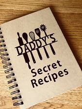 Daddy's Secret Recipes Utensils Father's Day Gift