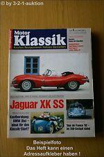 Motor Klassik 6/92 Jaguar XK SS BMW Dixi Porsche 356