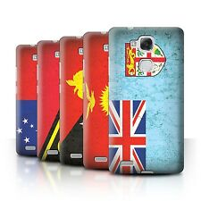 STUFF4 Back Case/Cover/Skin for Huawei Ascend Mate7/Oceania Flag