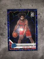 Coby White 2019-20 Optic Blue Velocity Rated Rookie Chicago Bulls #180