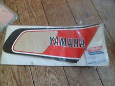 GENUINE YAMAHA NOS tank Graphix Panneau autocollant XT500 XT 500 1976 77 1e6-24247-00