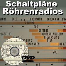 more than 8800 tube radio schematics SCHALTPLAN Radio Röhrenradio DVD Verstärker