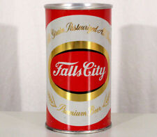 Falls City All Grain Very Clean Zip Top Beer Can Louisville Kentucky Ky Pull Tab