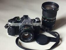 Canon AE-1 program 35 mm Canon lens FD 50 mm f/1.8 lens Canon FD 35-105 f/3,5