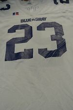 Blue/Gray All-Star Classic Game Used Football Jersey Size L #23 Fletcher
