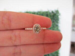 .85 CTW Diamond 18k Rose Gold Engagement Ring ER292 sep * GIA-Certified