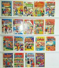 Lot of 19 ARCHIE SERIE VINTAGE COMIC BOOK  (1019)