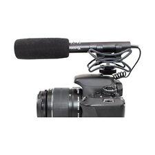 Pro T7i Rebel AZ SM stereo shotgun mic for Canon T7i T6i T6s T6 T5i SL2 SL1 T3i