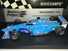 1:18 Minichamps #183 000111 Jenson Button Benetton B200 1st test drive Jerez