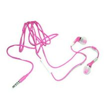 Earphone w Mic & Volume Control & On/Off for iPhone 3GS 4 4S Earbuds Pink