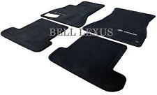 LEXUS OEM FACTORY 4pc CARPET FLOOR MAT SET 2002-2010 SC430 BLACK