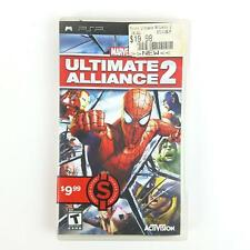 Marvel: Ultimate Alliance 2 (Sony PSP, 2009) PlayStation Portable Complete