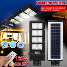 LED Solar Street Lights, Outdoor Dusk to Dawn Pole Light Security IP67 Spotlight