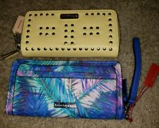 MAX STUDIO Zip-Around Clutch Wallet NWT and Enzo Angiolini Groovy Palm Handbag