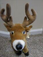 """Aurora 15"""" Stuffed Animal Plush Miyoni Large Buck 26183 White-Tailed Deer Toy"""