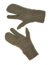 USED Thick  Wool Trigger Mittens Austrian Winter SKI Gloves Mitts