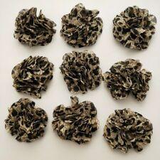 18 brown handmad flower applique/embellishment/dress/scrapbook/DIY/craft/sewing/