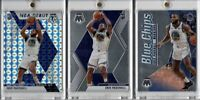 2019-2020 Panini Mosaic Eric Paschall RC Lot Silver NBA Debut Blue Chips + Base