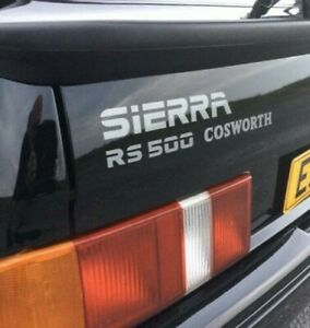 SIERRA RS500 COSWORTH BOOT STICKER DECAL