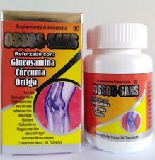 OSSOS SANS ARTHRITIS JOINT PAIN 30 TABLETS 600 MG ARTRITIS DOLORES OSTEOPOROSIS