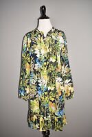 J.CREW NEW $168 Silk Ruffle Dress in Watercolor Floral Medium