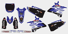 YAMAHA YZ 125 250 2015-2019 DECAL STICKER GRAPHIC KIT
