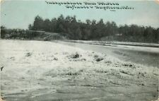 Napoleon & Defiance Ohio~Independence Dam~1910 CU Williams Photoette PC