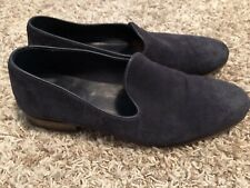n.d.c. made by hand Blue Suede Wholecut Loafer Size 44