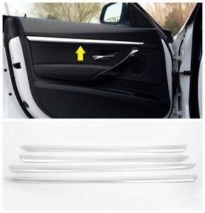 4pc chrome Door molding Strip cover Trim For BMW 3 Series GT Grand Turismo F34