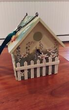 ARISTER GIFTS   New Butterfly Birdhouse.. Beautiful Indoor Condition  7 in. tall
