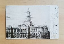 Divided back postcard, Polk County Courthouse, Des Moines, Iowa