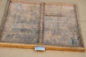 alte Schublade Druckereischublade Holz vintage shabby chic industriedesign deko~