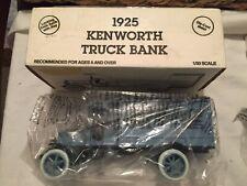 VINTAGE 1925 Kenworth Truck Die Cast Metal Bank 1/30 Scale w/ BOX