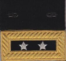 Civil War Major General Shoulder Boards or Straps Extra Rich Regulation FreeCoin