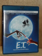 E.T. The Extra-Terrestrial (Blu-ray/DVD, 2012, 2-Disc Set, Anniversary Editio...