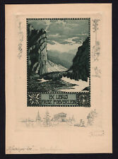 09)Nr.127- EXLIBRIS- Adolf Kunst, Montafon, 1916