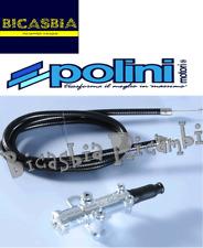 10260-Control Starter air Polini Chromé Complet fil