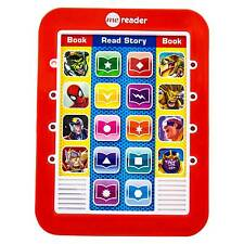 Marvel Electronic Reader 8 Book Set Library Me Reader Story Reader Kids Books