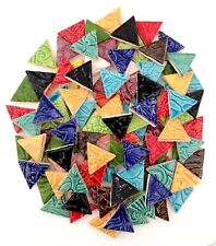 Mosaic Triangles Tiles - Multi Colored