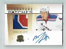 09-10 UD The Cup Signature Patches  Michael Del Zotto  /75  Auto  Patch