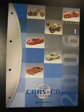 Cars & Co Company Katalog 1 2006