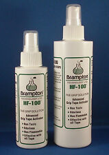 "Brampton HF-100 Golf Grip Tape Activator solvent 4oz ""the grip solution"" re grip"